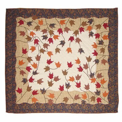 Autumn Leaves Quilt Size: Full / Queen