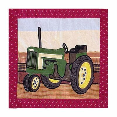 Barnyard Cotton Throw Pillow