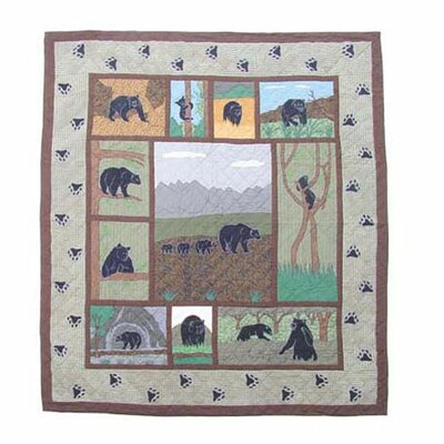 Bear Country Quilt Size: Twin