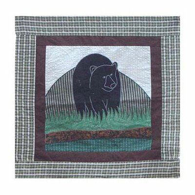 Bear Country Toss Cotton Throw Pillow