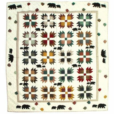Bears Paw Quilt Size: King