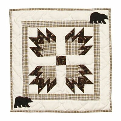 Bear's Paw Cotton Throw Pillow