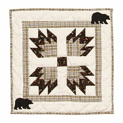 Bears Paw Cotton Throw Pillow
