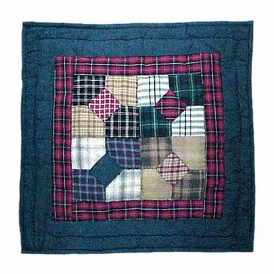 Bow Tie Cotton Throw Pillow