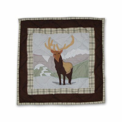 Elk Toss Cotton Throw Pillow