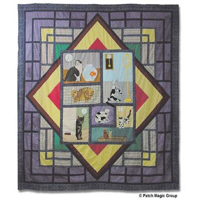 Cats Full / Queen Quilt