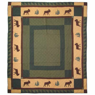 Cedar Trail Quilt Size: King