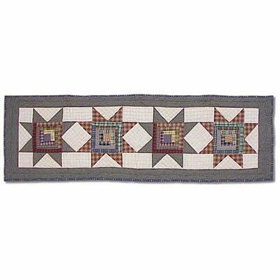 Cottage Star Small Table Runner