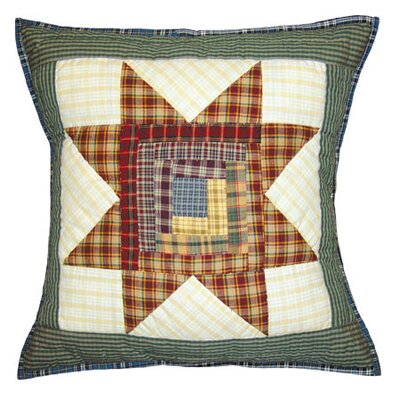 Cottage Star Cotton Throw Pillow