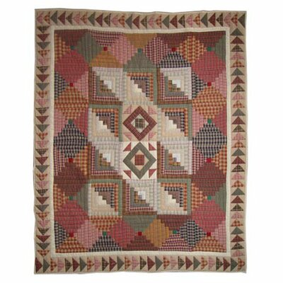Country Roads Cotton Throw Quilt