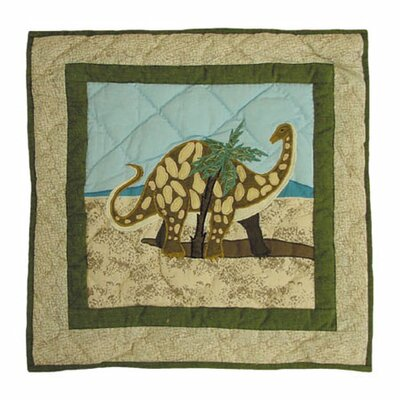 Dinosaur Cotton Throw Pillow
