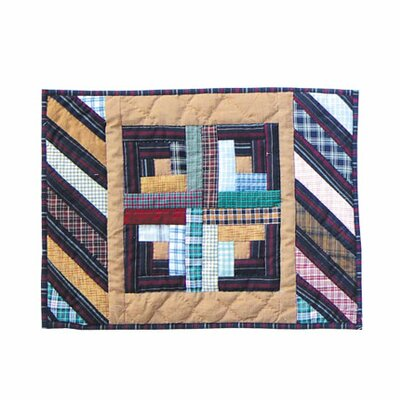 Dusty Diamond Log Cabin Placemat (set Of 4)