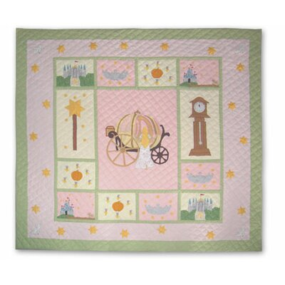 Fairy Tale Princess Quilt Size: King