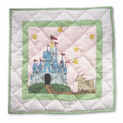 Fairy Tale Princess Cotton Throw Pillow