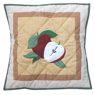 Festive Fruit Cotton Throw Pillow