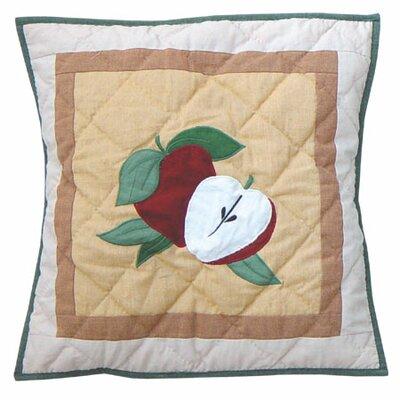 Festive Fruit Cotton Throw Pillow