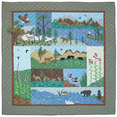 Natures Splendor Quilt Size: Luxury King