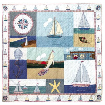 Nautical Quilt Size: King
