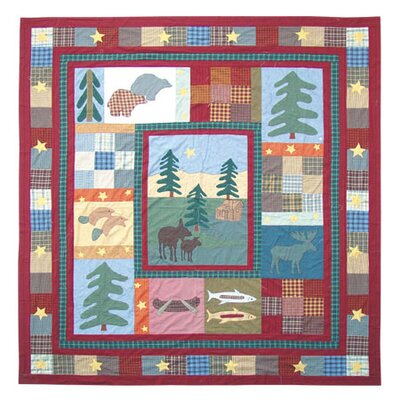 Northwood Star Quilt Size: King
