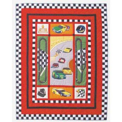 Racecar Quilt Size: King