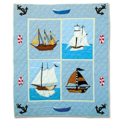 Sailors Delight Throw Quilt