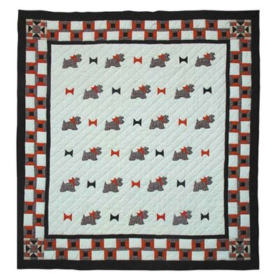 Scottie Twin Quilt