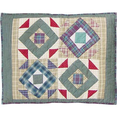 Square Diamond Pillow Sham
