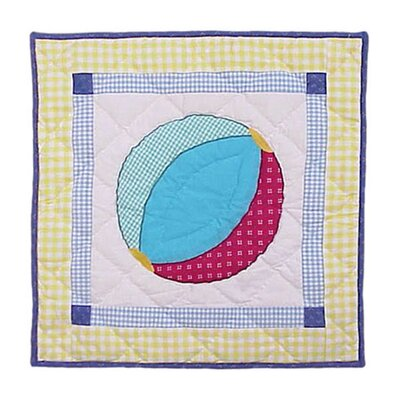Summer Fun Ball Cotton Throw Pillow