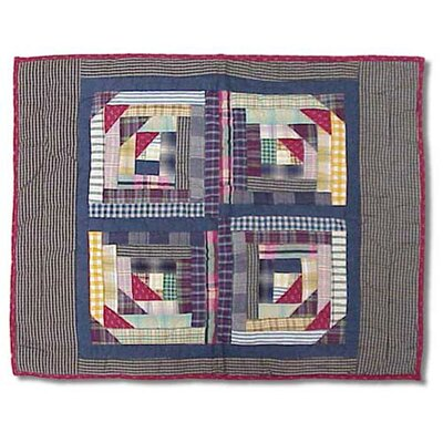 Wild Goose Log Cabin Pillow Sham
