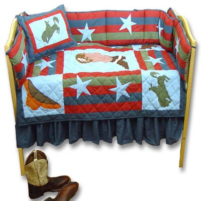 Wild West Crib Bedding Collection
