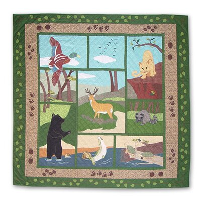Wilderness Quilt Size: King