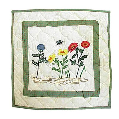 Wildflower Cotton Throw Pillow