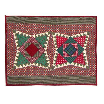 Yuletide Stars Pillow Sham