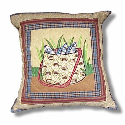Plainsboro Bag Cotton Throw Pillow