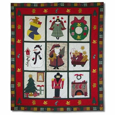 Holiday Cheer Throw Quilt