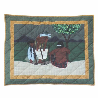Indian Dancers Pillow Sham