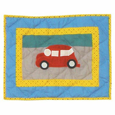Junior Travel Cotton Throw Pillow