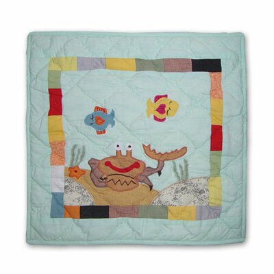Kids Aquarium Cotton Throw Pillow