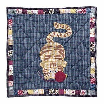 Kitty Cats Cotton Throw Pillow