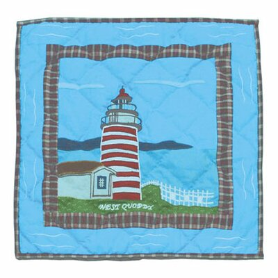 Lighthouse Gallery 100% Cotton Throw Pillow