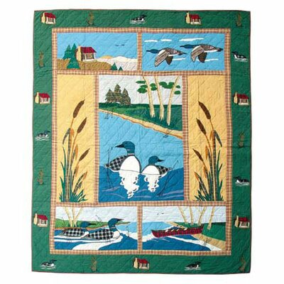 Loon Quilt Size: King