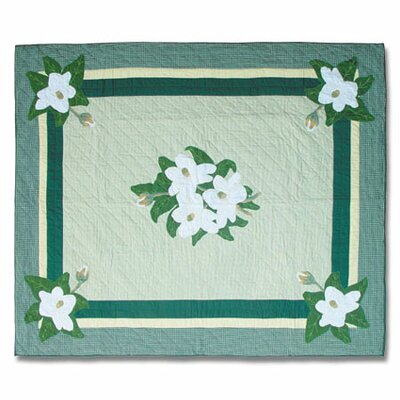 Magnolia Blossoms Quilt Size: Twin