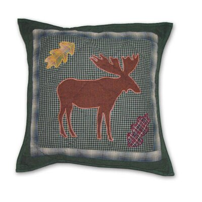 Northwoods Walk Cotton Throw Pillow