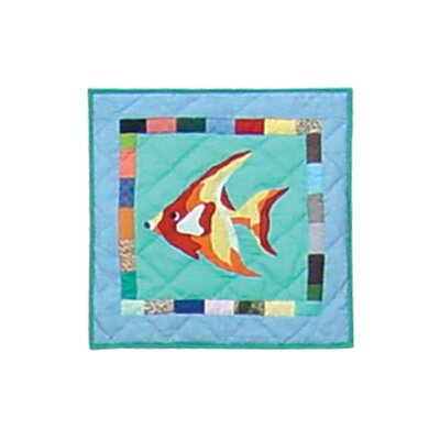 Ocean Schools Cotton Throw Pillow