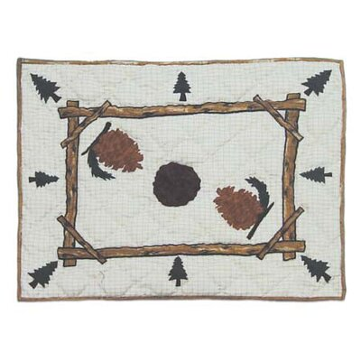 Pinewood Pillow Sham