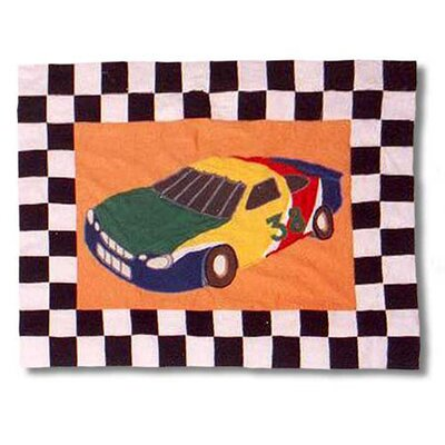 Racecar Pillow Sham
