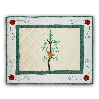 Twelve Days of Christmas Pillow Sham
