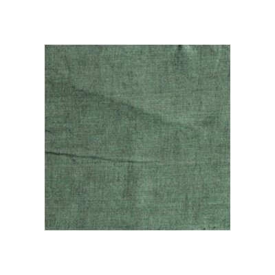 Chambray Cotton Throw Pillow Color: Hunter Green