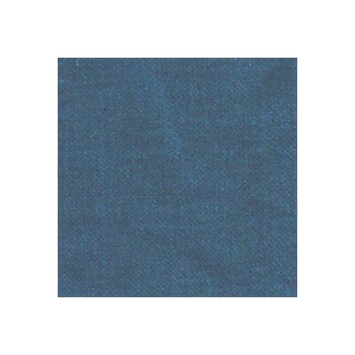 Chambray Cotton Throw Pillow Color: Dark Blue