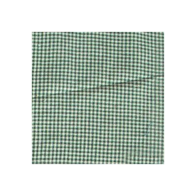 Gingham Checks Bed Skirt / Dust Ruffle Size: King